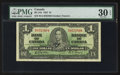 Canadian Currency: , BC-21b $1 1937 with H/A Prefix. ...