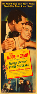 "Movie Posters:Drama, Penny Serenade (Columbia, 1941). Insert (14"" X 36"").. ..."