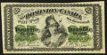 Canadian Currency: , DC-1b-i 25¢ 1870. ...