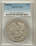 Morgan Dollars: , 1895-O $1 VF25 PCGS. PCGS Population (190/3842). NGC Census:(136/3633). Mintage: 450,000. Numismedia Wsl. Price for proble...