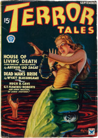 Terror Tales - September '34 First Issue (Popular, 1934) Condition: FN/VF