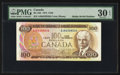 "Canadian Currency: , BC-52b $100 1975 with ""Radar"" Serial Number 6238326.. ..."