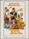 "Movie Posters:James Bond, The Man with the Golden Gun (United Artists, 1974). Poster (30"" X 40""). James Bond.. ..."