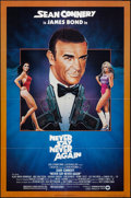 "Movie Posters:James Bond, Never Say Never Again (Warner Brothers, 1983). One Sheet (27"" X 41""). James Bond.. ..."