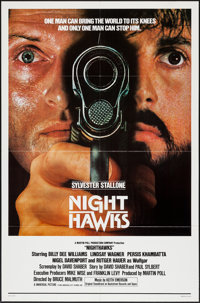 "Nighthawks (Universal, 1981). One Sheets (2) (27"" X 41"") Regular & Advance. Action. ... (Total: 2 Item..."