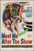 """Movie Posters:Comedy, Meet Me After the Show (20th Century Fox, 1951). One Sheet (27"""" X 41""""). Comedy.. ..."""