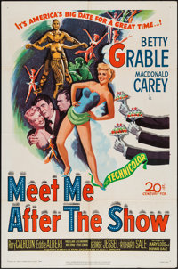"""Meet Me After the Show (20th Century Fox, 1951). One Sheet (27"""" X 41""""). Comedy"""