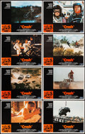 """Movie Posters:Sports, Checkered Flag or Crash and Others Lot (Universal, 1977). Lobby Card Sets of 8 (3) and Lobby Cards (11) (11"""" X 14""""). Sports... (Total: 35 Items)"""