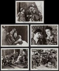 """The Prince and the Pauper (Warner Brothers, 1937). Photos (5) (8"""" X 10""""). Swashbuckler. ... (Total: 5 Items)"""