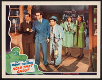 """Hold That Ghost (Universal, 1941). Lobby Card (11"""" X 14""""). Comedy"""