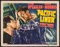 "Movie Posters:Drama, Pacific Liner (RKO, 1939). Title Lobby Card (11"" X 14""). Drama.. ..."