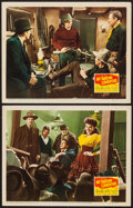 "Movie Posters:Western, My Darling Clementine (20th Century Fox, 1946). Lobby Cards (2) (11"" X 14""). Western.. ... (Total: 2 Items)"