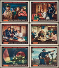 """Movie Posters:Science Fiction, Them! (Warner Brothers, 1954). Lobby Cards (6) (11"""" X 14""""). ScienceFiction.. ... (Total: 6 Items)"""