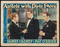 "Movie Posters:Crime, Angels with Dirty Faces (Warner Brothers, R-1943). Lobby Card (11""X 14""). Crime.. ..."