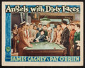 "Movie Posters:Crime, Angels with Dirty Faces (Warner Brothers, R-1943). Lobby Card (11"" X 14""). Crime.. ..."