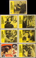 """Movie Posters:Horror, The Son of Dr. Jekyll & Other Lot (Columbia, 1951). Lobby Cards(7) (11"""" X 14""""). Horror.. ... (Total: 7 Items)"""