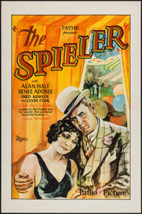 """The Spieler (Pathé, 1928). One Sheet (27"""" X 41""""). Crime"""