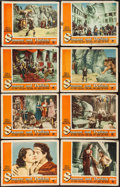 "Movie Posters:Adventure, Samson and Delilah (Paramount, 1949). Lobby Card Set of 8 (11"" X14""). Adventure.. ... (Total: 8 Items)"