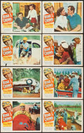 "Movie Posters:Sports, Roar of the Crowd (Allied Artists, 1953). Lobby Card Set of 8 (11"" X 14""). Sports.. ... (Total: 8 Items)"