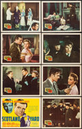 """Movie Posters:Crime, Scotland Yard (20th Century Fox, 1941). Lobby Card Set of 8 (11"""" X14""""). Crime.. ... (Total: 8 Items)"""