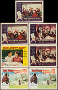 """Movie Posters:Elvis Presley, Roustabout & Others Lot (Paramount, 1964). Lobby Cards (7) (11""""X 14""""). Elvis Presley.. ... (Total: 7 Items)"""