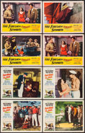 """Movie Posters:Adventure, Fair Wind to Java & Other Lot (Republic, 1953). Lobby Cards (8)(11"""" X 14""""). Adventure.. ... (Total: 8 Items)"""