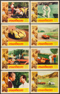 "Movie Posters:Action, RoadRacers (American International, 1959). Lobby Card Set of 8 (11"" X 14""). Action.. ... (Total: 8 Items)"