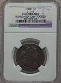 Large Cents, 1802 1C -- Burnished, Obverse Tooled -- NGC Details. Fine. S-242.NGC Census: (30/289). PCGS Population (33/368). Mintage:...