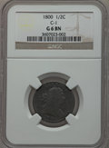 Half Cents: , 1800 1/2 C Good 6 NGC. C-1. NGC Census: (3/156). PCGS Population(4/232). Mintage: 202,908. Numismedia Wsl. Price for prob...