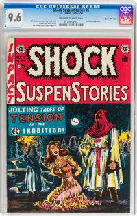 Shock SuspenStories #6 Gaines File pedigree (EC, 1952) CGC NM+ 9.6 Off-white to white pages