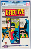 Silver Age (1956-1969):Superhero, Detective Comics #327 Double Cover (DC, 1964) CGC NM 9.4 White pages....