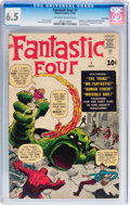 Silver Age (1956-1969):Superhero, Fantastic Four #1 Twin Cities pedigree (Marvel, 1961) CGC FN+ 6.5Off-white to white pages....
