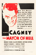 "Movie Posters:Crime, The Mayor of Hell (Warner Brothers, 1933). One Sheet (27"" X 41"")....."