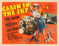 "Movie Posters:Musical, Cabin in the Sky (MGM, 1943). Half Sheet (22"" X 28"").. ..."