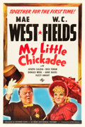 "Movie Posters:Comedy, My Little Chickadee (Universal, 1940). One Sheet (27"" X 41"") StyleA.. ..."