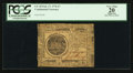 Colonial Notes:Continental Congress Issues, Continental Currency February 17, 1776 $7 PCGS Apparent Very Fine20.. ...