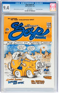 Silver Age (1956-1969):Alternative/Underground, Zap Comix #1 (First Printing - Plymell) (Apex Novelties, 1968) CGCNM 9.4 White pages....