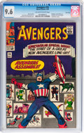 Silver Age (1956-1969):Superhero, The Avengers #16 Twin Cities pedigree (Marvel, 1965) CGC NM+ 9.6 Off-white to white pages....