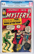 Silver Age (1956-1969):Superhero, Journey Into Mystery #93 Twin Cities pedigree (Marvel, 1963) CGCNM+ 9.6 Off-white to white pages....