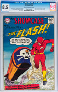 Silver Age (1956-1969):Superhero, Showcase #13 The Flash (DC, 1958) CGC VF+ 8.5 Cream to off-whitepages....