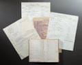 Other:European, RENOIR DEALER DURAND-RUEL CORRESPONDENCE AND RENOIR ACCOUNTLEDGERS. THE RENOIR COLLECTION. ... (Total: 13 Items)