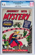 Silver Age (1956-1969):Superhero, Journey Into Mystery #83 Golden Record Reprint (w/o record) (Marvel, 1966) CGC NM+ 9.6 Off-white to white pages....