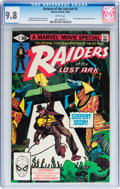 Modern Age (1980-Present):Miscellaneous, Raiders of the Lost Ark #2 (Marvel, 1981) CGC NM/MT 9.8 White pages....