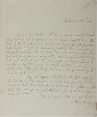Thomas Moore Autographed Letter Signed