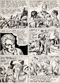 "Original Comic Art:Panel Pages, Jack Kirby and Joe Simon Boys' Ranch #1 ""The Man Who HatedBoys"" Page 17 Original Art (Harvey, 1950)...."