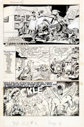 "Original Comic Art:Panel Pages, Joe Simon and Neal Adams The Adventures of the Fly #4Partial Story ""Muggsy's Masterpieces"" Original A... (Total: 8Original Art)"
