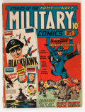 Golden Age (1938-1955):War, Military Comics #2 (Quality, 1941) Condition: GD....