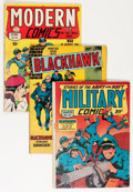 Golden Age (1938-1955):Superhero, Blackhawk-Related Group (Quality/DC, 1945-66) Condition: Average GD.... (Total: 32 Comic Books)
