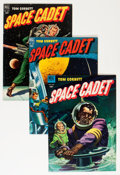 Golden Age (1938-1955):Science Fiction, Tom Corbett Space Cadet Group (Dell, 1952-54) Condition: AverageFN+ except as noted.... (Total: 10 Comic Books)