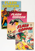 Golden Age (1938-1955):Science Fiction, Flash Gordon Group (Dell/Gold Key/Harvey, 1945-51) Condition:Average VG/FN except as noted.... (Total: 8 Comic Books)